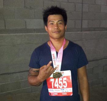 Melbourne Marathon 2012