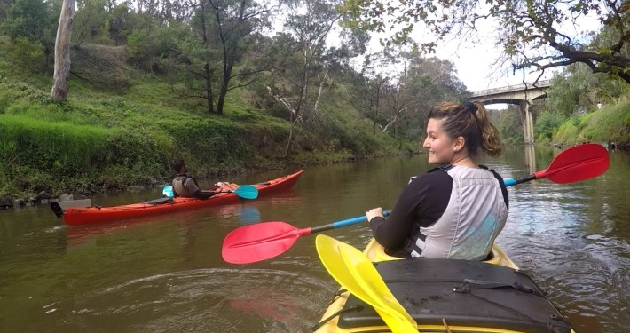 Yarra River Kayak in Melbourne City