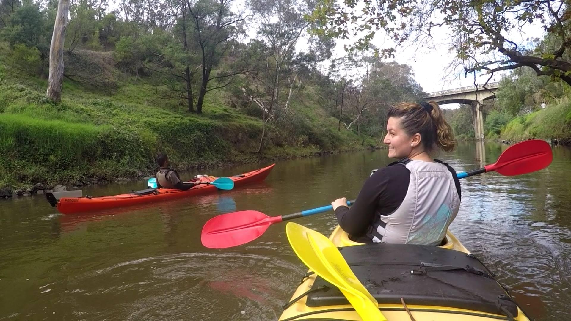 Yarra River Kayak in Melbourne City