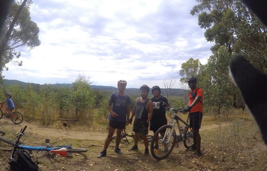 Mountain biking experience