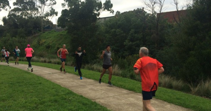 5km Running with Parkrun - Coburg Lake