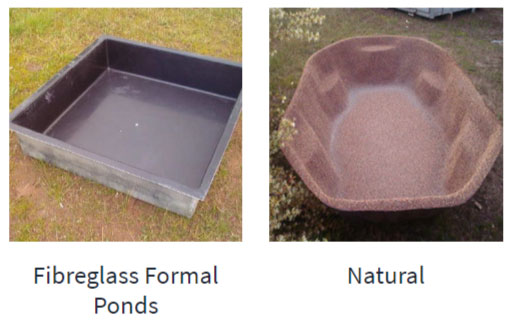 Fibreglass Ponds For Sale